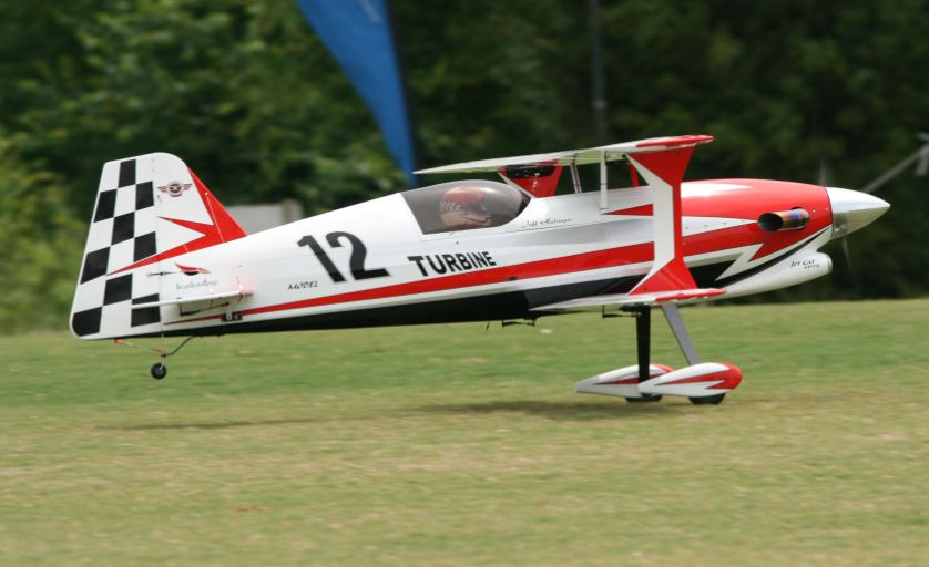 Best Biplane at Joe Nall-Jeff Holsinger's Turbine Model-12 Pitts