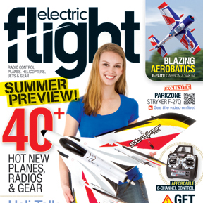 Electric Flight September magazine on sale now.  Check out some photos from the issue!