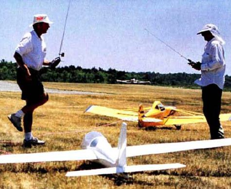 Aerotowing: An Introduction to an RC Team Sport