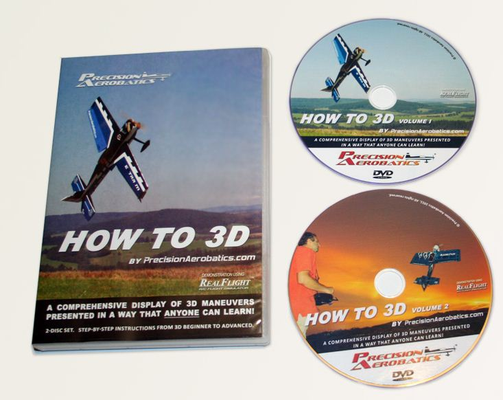 How to 3D: new DVD from Precision Aerobatics