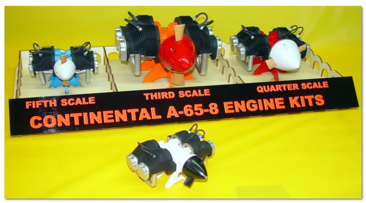 Top Notch Products–1/6 Scale Continental Engine