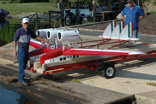 RC Flying Boat–MONSTER SCALE