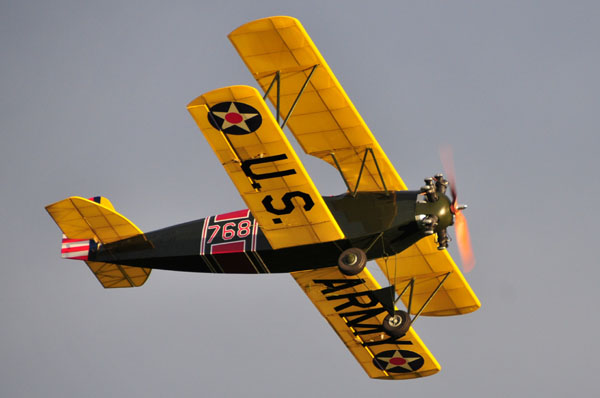 On Sale Now! Plans for Fleet Model-2 Biplane by Pat Tritle