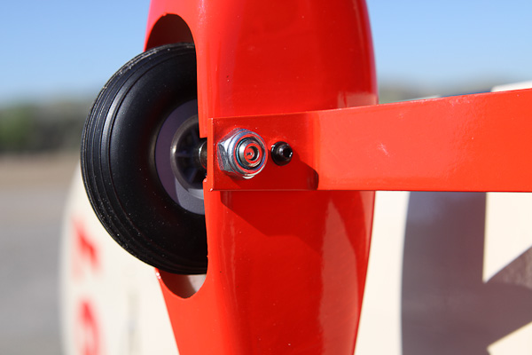 Wheel pants: how to line it up