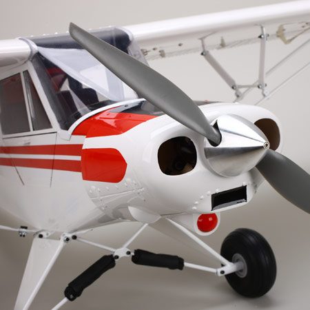 In for Review: E-flite Super Cub 25e–Platinum Series