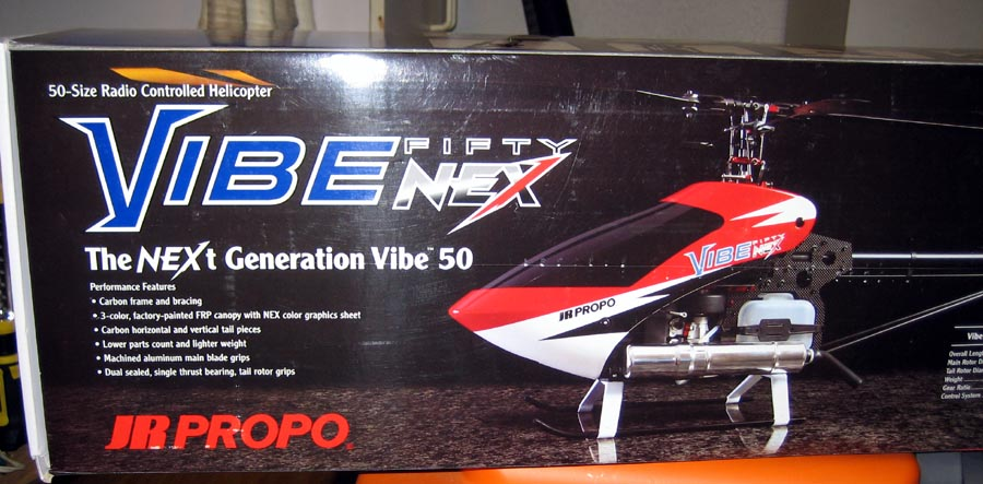 Building the Vibe 50 NEX