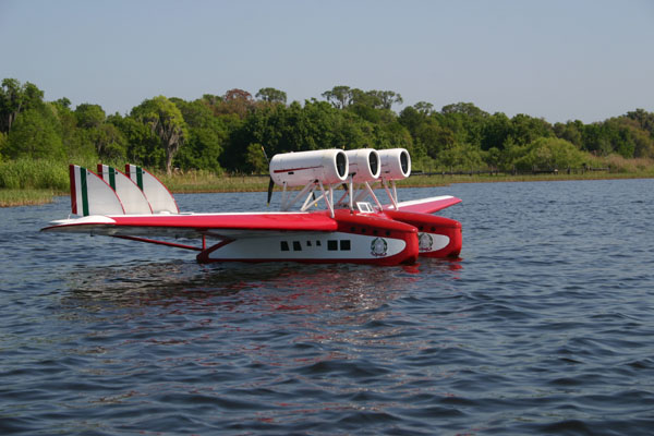 RC Flying Boat-MONSTER SCALE - Model Airplane News