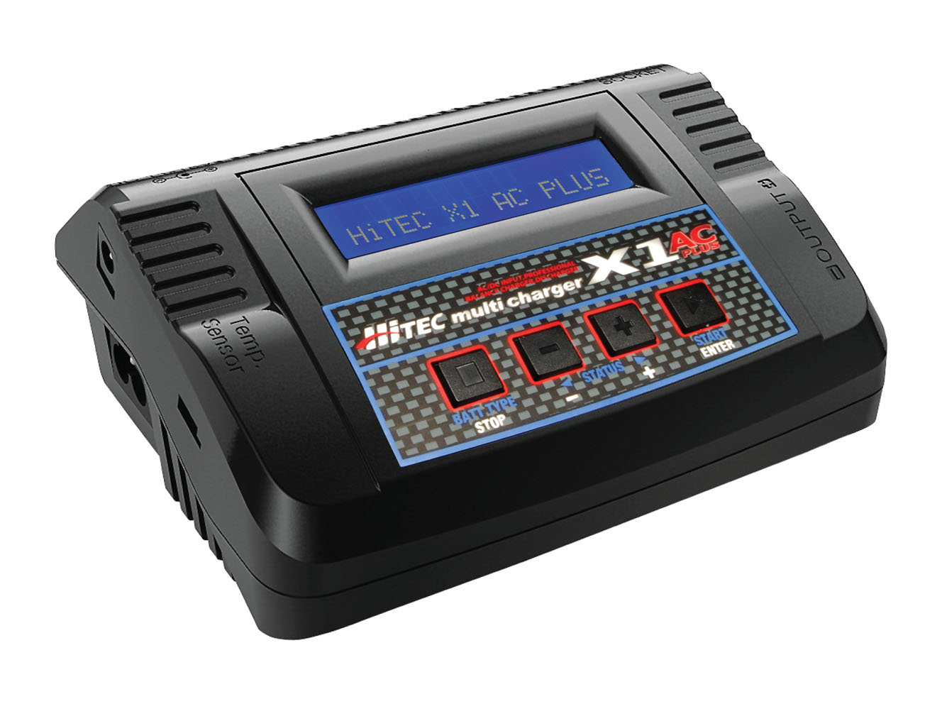 X1 AC Plus battery charger from Hitec