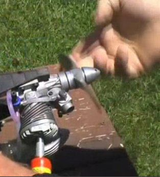How To Hand Start a 2-Stroke Glow Engine–Safely.