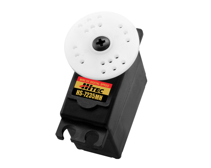 Hitec's new High Voltage, Coreless, Premium Mini Servos