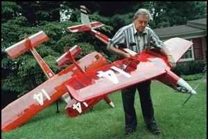 Model Airplane History-Maker Maynard Hill dies at 85