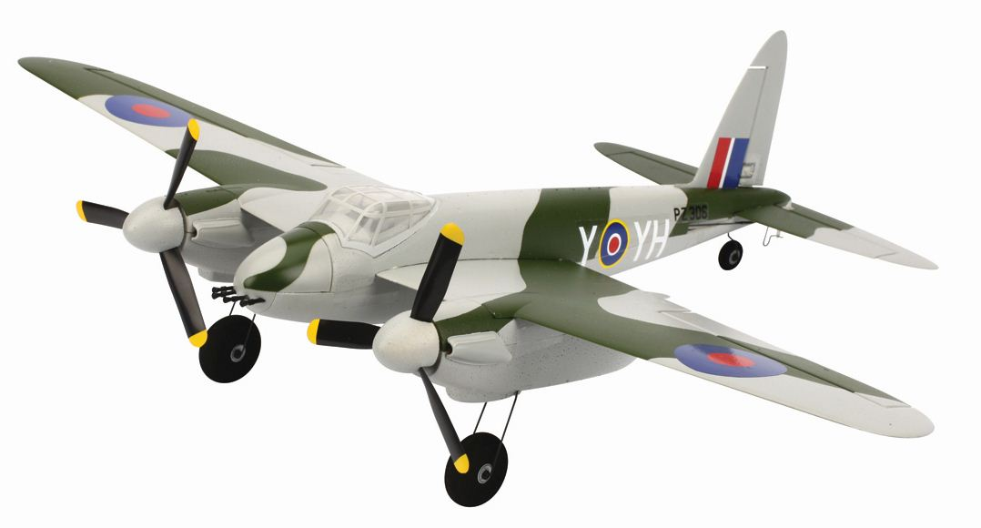 Just in for Review–ParkZone Ultra Micro Mosquito MK.VI