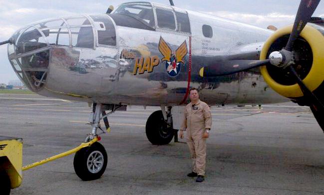 Nick Ziroli–Warbird Pilot!