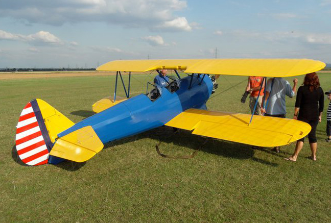 62% Scale RC Stearman PT-17