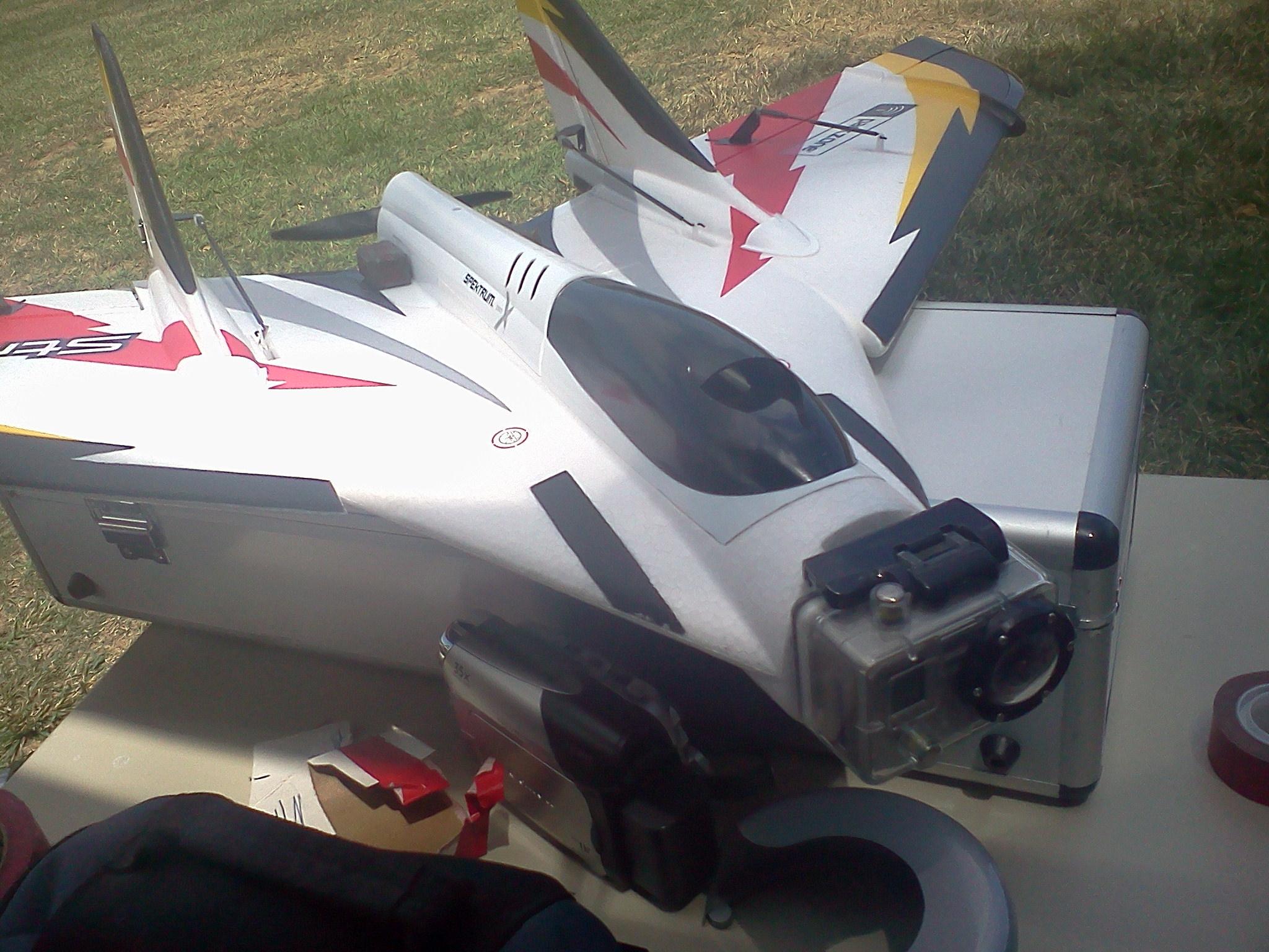 Speedy Camera Plane