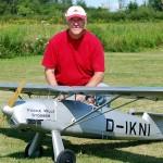 Ron Cochrane with his FW 56 Stosser