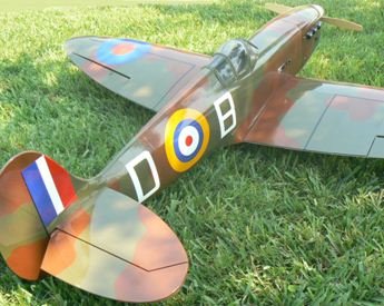 Spiffing up a Spitfire - Model Airplane News