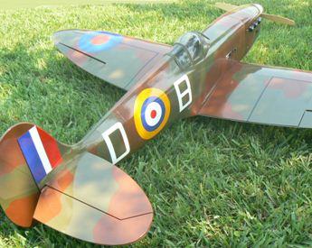 Spiffing up a Spitfire