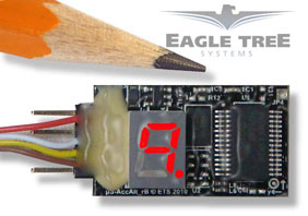 Eagle Tree's new Standalone G-Force Sensors
