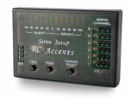 RC Accents Servo Setup