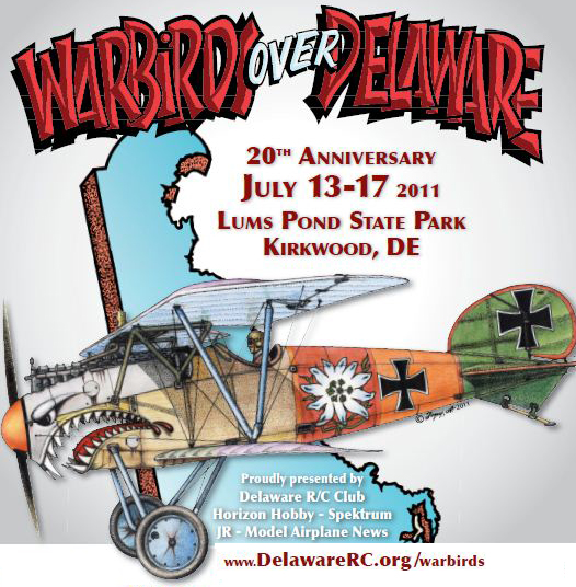 Video — 20th Warbirds over Delaware Giant Scale Fly In — Exclusive Online Coverage