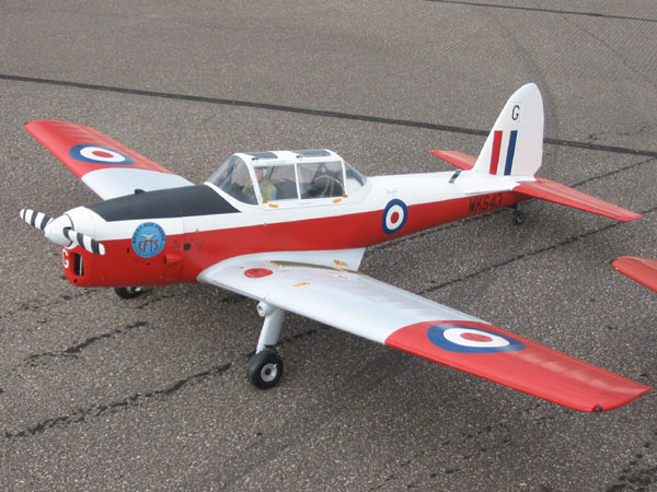 Brian Taylor's DHC-1 Chipmunk — Close-up flightline walk-around