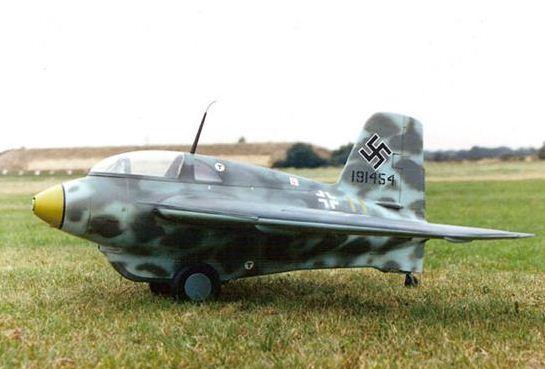 Model Airplane Me-163 Komet