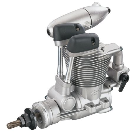 O.S. FS-62V: new 4-stroke engine!