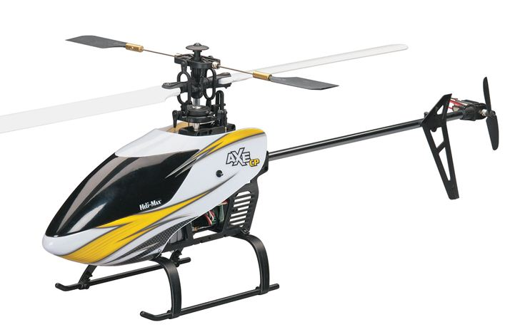 Axe CP EP Helicopter: Flight-Ready!