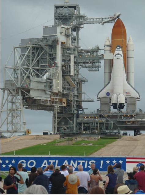 Last Shuttle launch, up close and personal