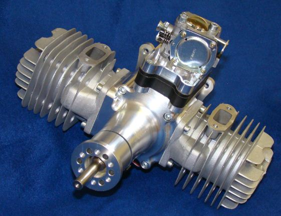 RCGF 111cc Gas Twin