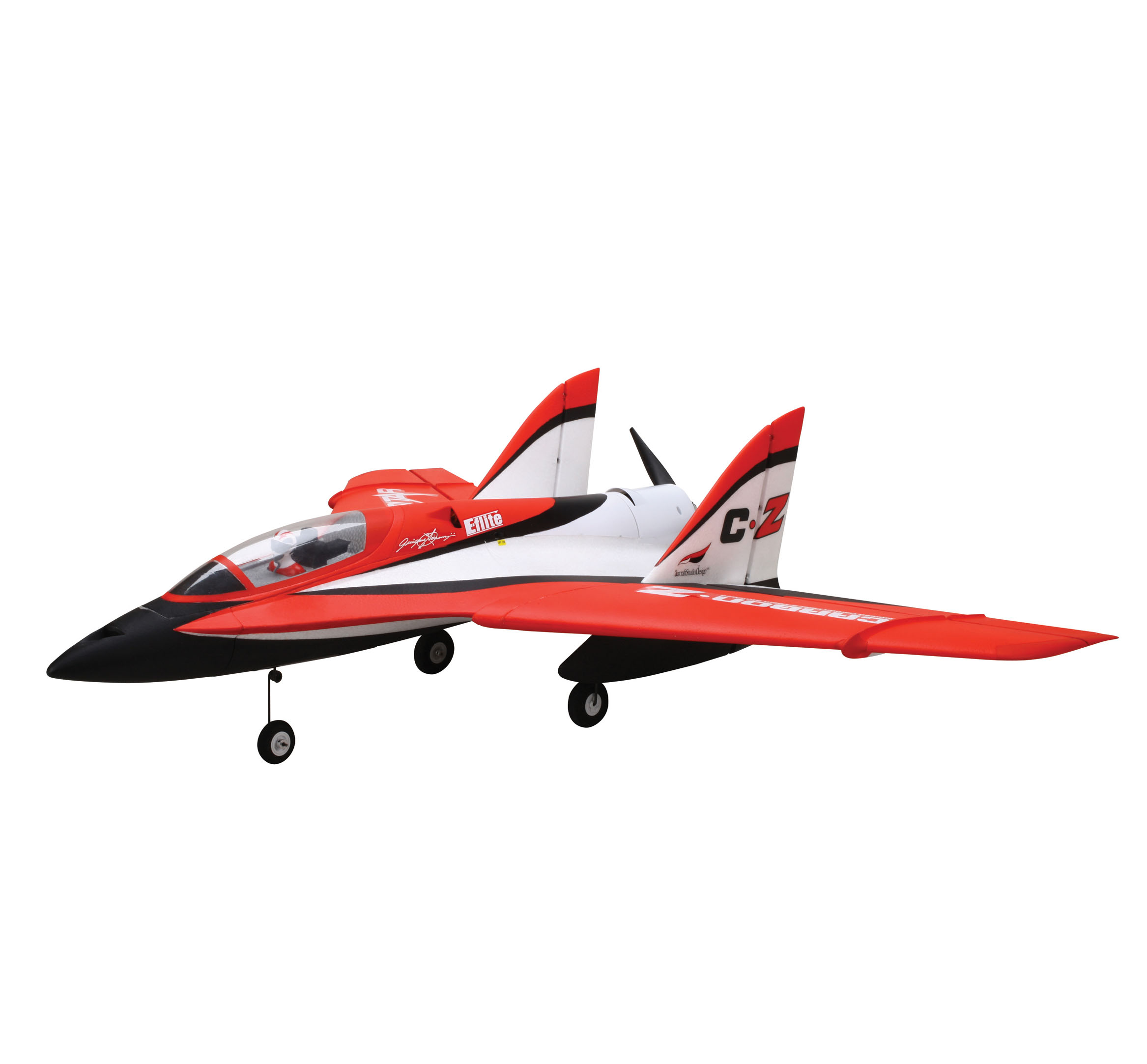 E-flite Carbon-Z Scimitar, with Vectored-Thrust