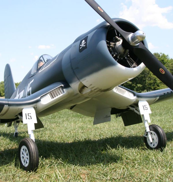 Composite-ARF F4U Corsair Review – Model Airplane News