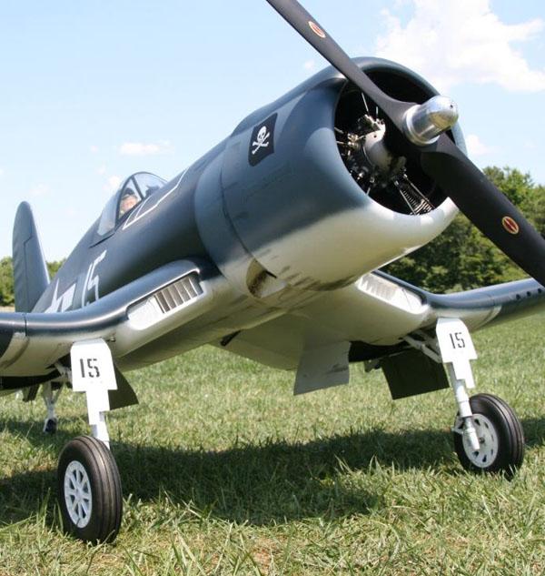 Composite-ARF F4U Corsair Review – Model Airplane News