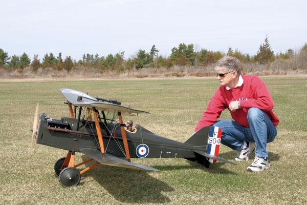 Brian Perkins' RAF SE5a Scout–An RC Spotlight!