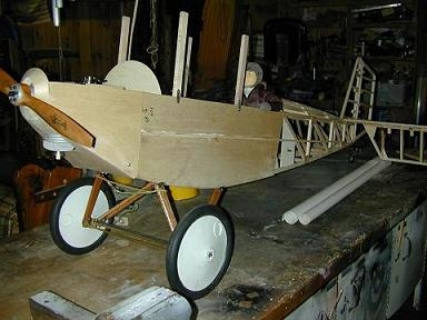 1/3-scale scratch-built Pietenpol Aircamper — free to good home