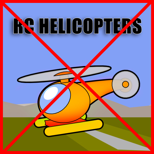Helicopters welcome?