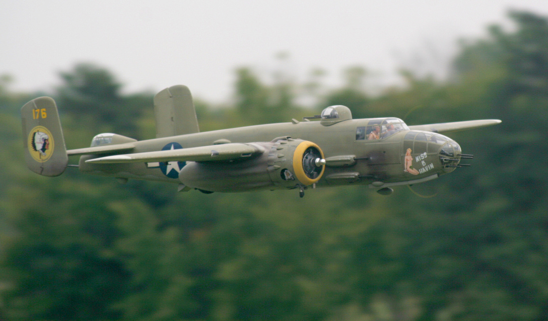 Master Scale RC B-25 Mitchell! - Model Airplane News