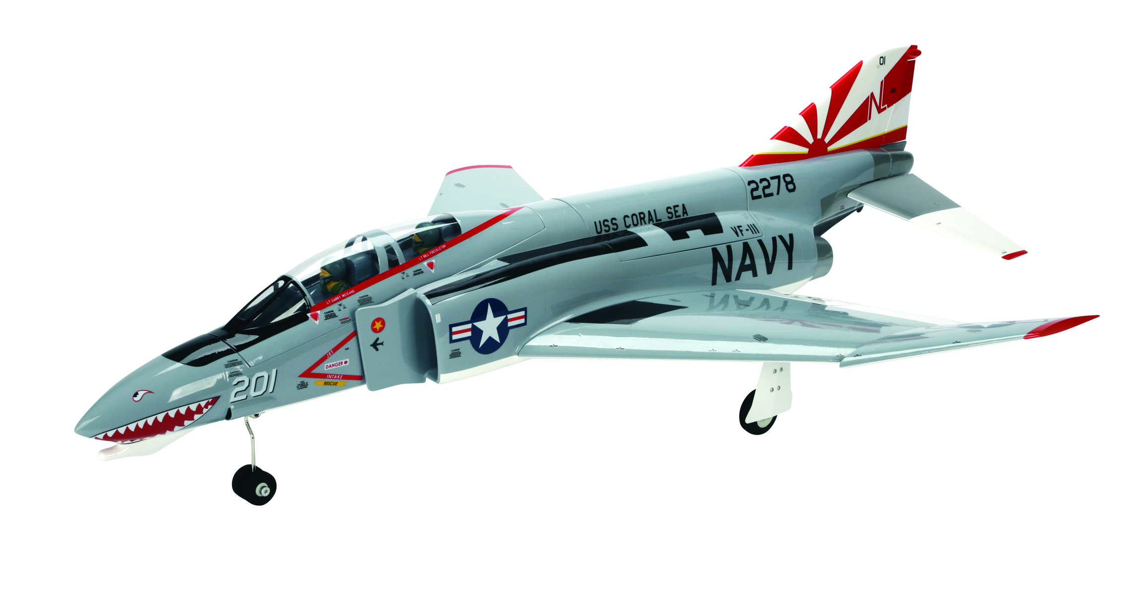 E-flite Platinum Series F-4 Phantom 32 DF