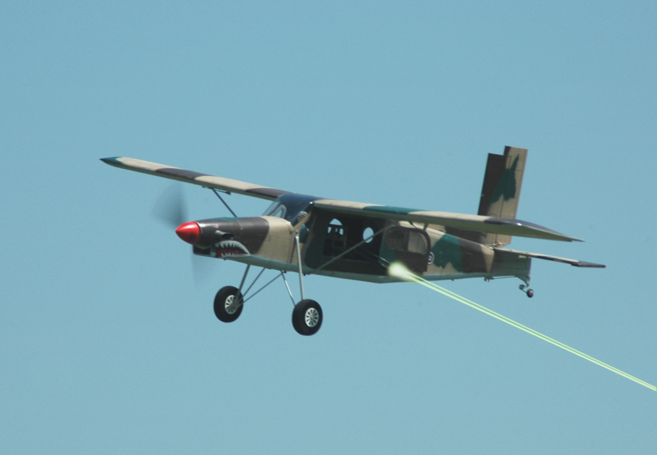 Seagull Models PC-6 Porter becomes AU-23 Peacemaker