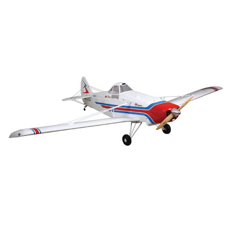 Hangar 9 Pawnee, our new review plane