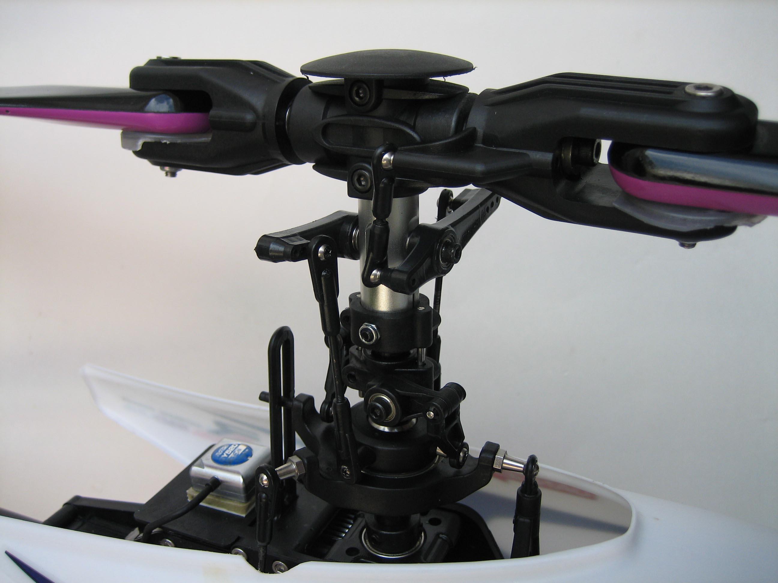 Converting the Pantera P6 to a flybarless head