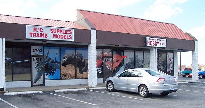 A Favorite Mom and Pop Hobby Shop - Mark Twain Hobby - Model