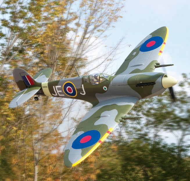 ParkZone Spitfire Mk. IX — Test Flight