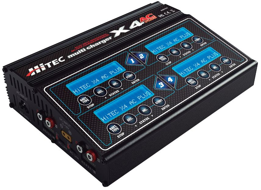 Hitec X4 AC Plus Charger w/ built-in AC power supply