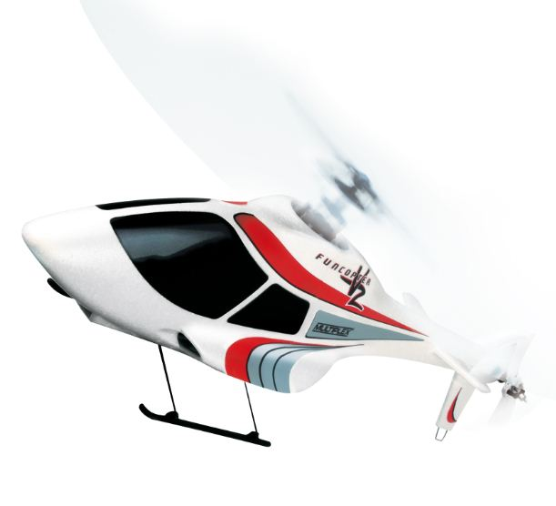 Multiplex USA FunCopter V2 — Next generation of RC Heli Fun!