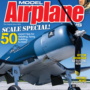 Model Airplane News December magazine on sale now. Check out some pics from the issue!