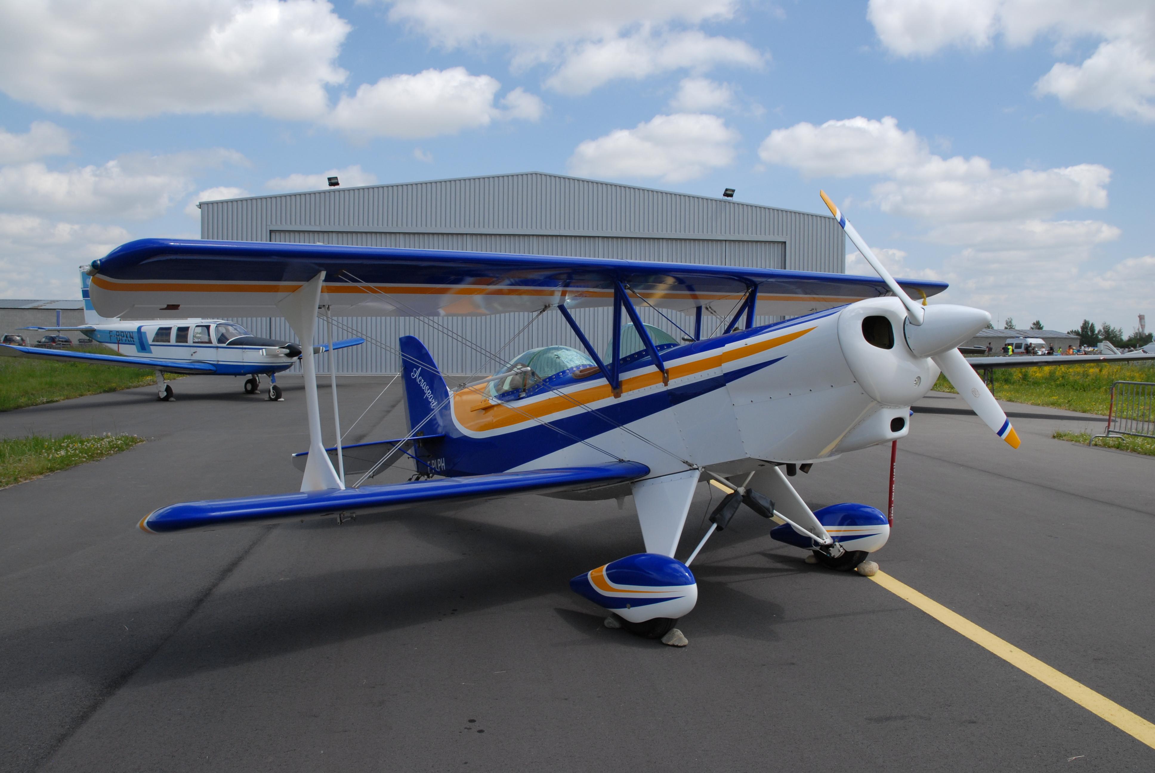 Planes Worth Modeling — Acro Sport II Biplane