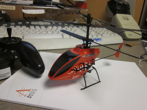 Blade Scout CX Micro Heli — Just in for Review