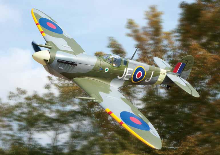 ParkZone Spitfire Mk  IX - Sneak Peek - Model Airplane News